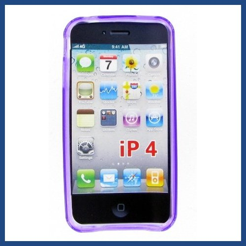 Apple iphone 4 Purple Case