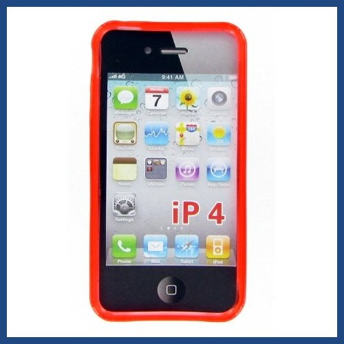 Apple iphone 4 Red Case
