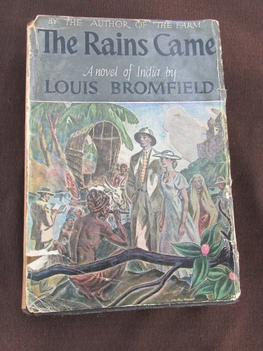 The Rains Came Novel of India Louis Bromfield 1937 Book