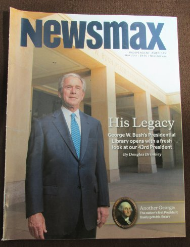 Newsmax Magazine Independent American May 2013 George W. Bush