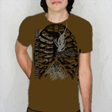 The Burn Factor Brown Shirt Small