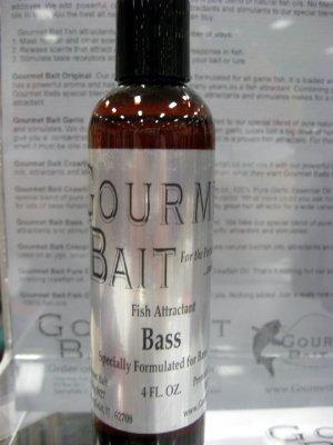 Gourmet Bait Bass Fish Attractant/Scent 4 oz.