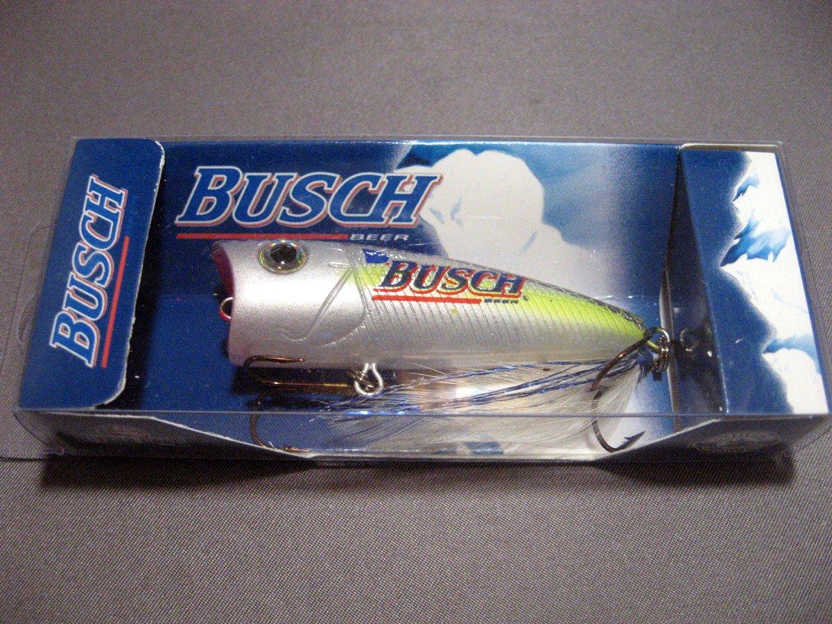 """Busch Beer Busch Popper 2 1/2"""", 1/4oz, Chart Blue Shad"""
