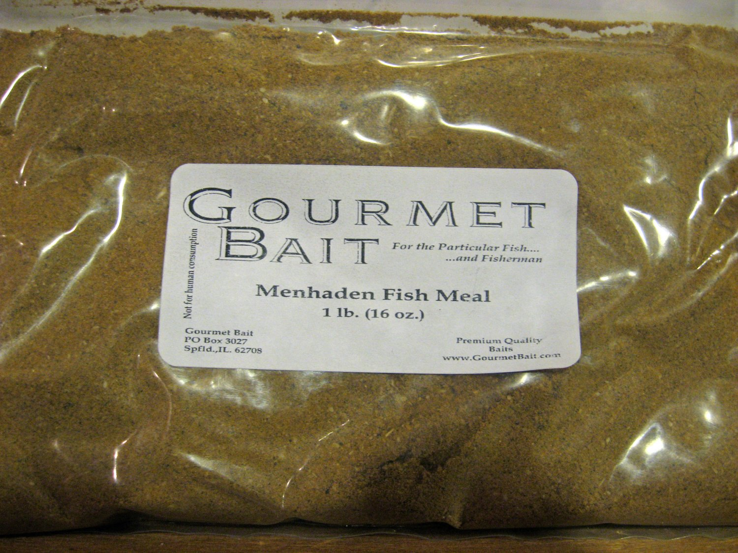 1 lb menhaden fish meal carp catfish bait additive