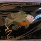 Bluegill Pin Hand Crafted Pewter Painted Bluegill Pin  Rivers Edge