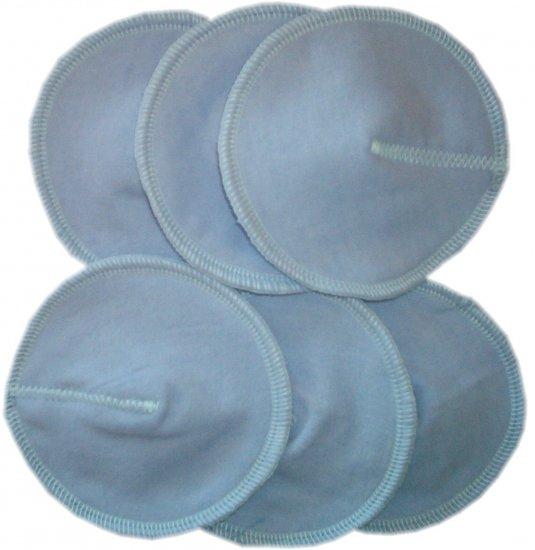 CONTOUR flannel Cloth WASHABLE Reusable Nursing PAD NEW