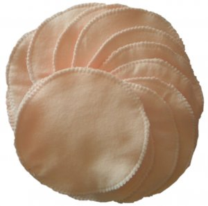 12 CLOTH NURSING PADS