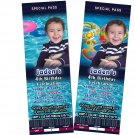 Summer Pool Personalized Picture Photo Birthday Party Ticket Invitations Children Kids Shark