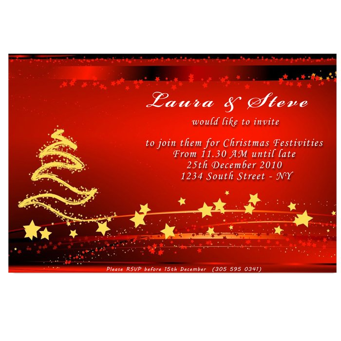 24 Christmas Holiday Party Photo Invitations Ornaments