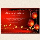 Printable Christmas Holiday Party Invitations Snowflake