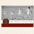 10 ct 4x6 Personalized Holiday Photo Card Greeting Custom
