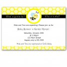 10 What´s Gonna Bee Gender Reveal Invitations Baby Shower Birthday