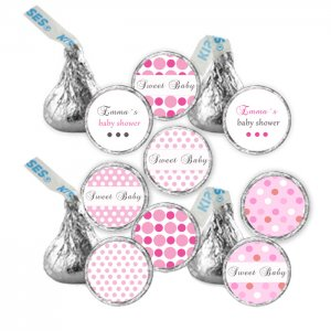 Printable candy sticker print diy labels tags magnets for Free hershey kisses labels template
