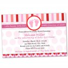 30 Valentines Love Day Inspired Baby Shower Invitations