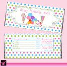 Printable Personalized Sweetshop Candy Bar Wrapper - Any Party Occasion