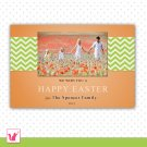 Printable Personalized Easter Greeting Photo Card