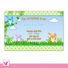 Printable Personalized Easter Egg Hunt or Birthday Party Baby Shower Invitation Photo Card 2