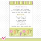 Printable Personalized Cute Tool Shop Daddy Shower - Baby Shower Invitations