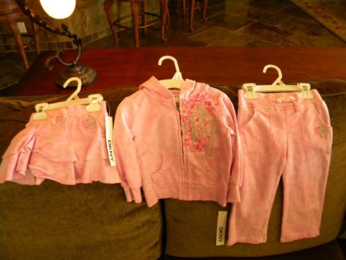 DKNY 2T Girls Set Cute!!!