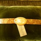 Chicos Opal Snake Belt