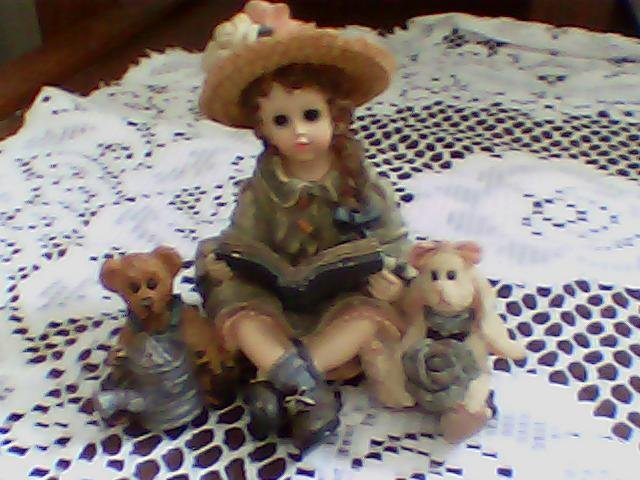 cute figurine boyds yesterdays child the dollstone collection 1997