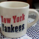 new york yankees coffee cup,mug 1997 hunter collectable