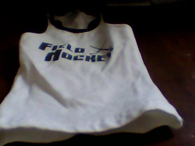 girls size S sleeveless sport shirt augusta sportswear field hockey neat