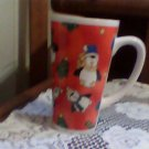 large collectable coffee cup,mug holiday,christmas,winter