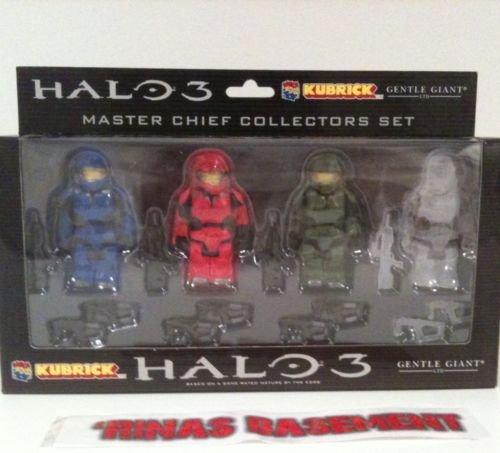 Halo 3 Kubrick Gentle Giant Master Chief Medicom