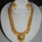 24Crt Gold Plated Necklace Set Free Body Dot