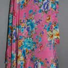 "Skirt Wrap Vintage Sarong Size large Saree 36"" Inches"