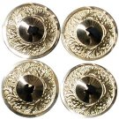 Golden Zills Finger Cymbals 2 pair  Black elastic