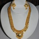 24Crt Gold Plated Necklace Set Free Body Dot Dance EHS