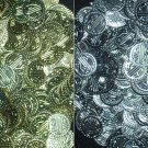 380 Pcs Silver & Gold Coins indian Dance EHS