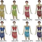 Choose Butterfly Dress gold Dance EHS