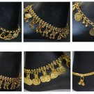 Wholesale  Fashionable Anklet New mix design 20 pair armband bracelet gold tone