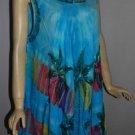Vibrant colors  Maxi dress  all occasions Umbrella Tie Die wholesale 25 dress