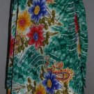 "Skirt Wrap Vintage Sarong Size medium Saree 30"" inches"