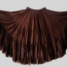 25 Yard Gypsy Tribal Danc Skirt New 100%  cotton snag easily