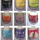 Wholesale lot for Kids 10  Hip scarves  color Dance Belts Wholesale Dance