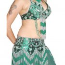 Dance skirt, dance costume set items in belly dance