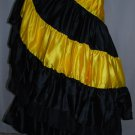 Tribal Style Belly Dance polyster flamanco skirts