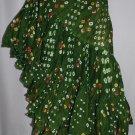 Persian Gulf tribal dance cotton polka dot skirt
