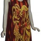 Wholesale lot of 25 rayon tie dye summer dress