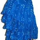West African Dance polka dot skirt Turquoise Color