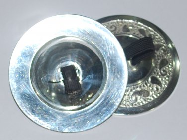 4 pcs Sagat Zills Finger Cymbals Silver tone for Belly Dancers
