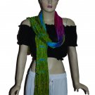 5 pcs lot of Mix assorted color multicolor scarves