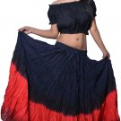 Newest Belly dance tribal skirt 12 yard cotton