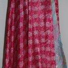PLUS SIZE LOT OF 5  PCS Wholesale Art Silk Sari Wrap Skirt , Wraps