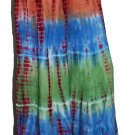 10 Pcs assorted colors tie dye rayon pants
